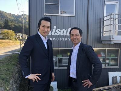 ミサト工業川嶋社長と上田隆勇